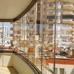 Dalia apartment - brown glass for balcony