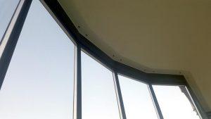 Система Tiara Twinmax чёрный профиль - остекление в Газипаше