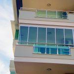 Остекление в Olive city Аланья - двойной стеклопакет Albert Genau Tiara Twinmax