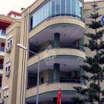 Остекление полукруглого балкона в Махмутларе Umit residence