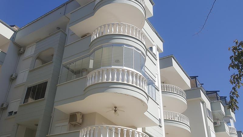Mixed shape balcony - Uygun apartment - Alanya