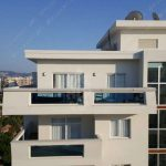 Double glass for penthouse in Mahmutlar