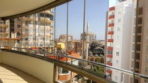 Остекление в Махмутларе - Dalia Apartment - Albert Genau