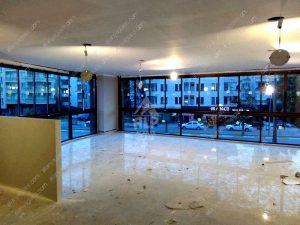 Остекление офисного помещения в Махмутларе