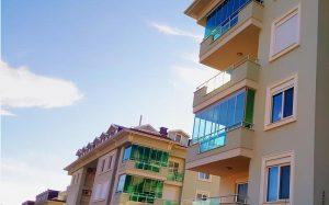 Остекление в Olive city Аланья - Albert Genau Tiara 8