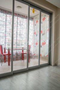 Раздвижные алюминиевые двери для балкона - Albert Genau SlideMaster